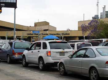 Existing Tijuana - San Ysidro Border Crossing