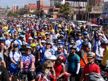 Rosarito-Ensenada 50-Mile Fun Bike Ride Starts 31st Year With Race This Saturday