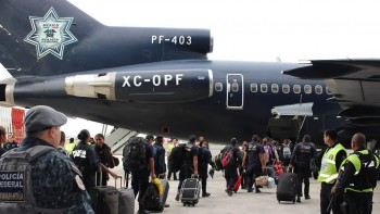 By Thursday, Mexico's Transportation Ministry declared that 18,000 people had already been flown out on more than 120 flights.